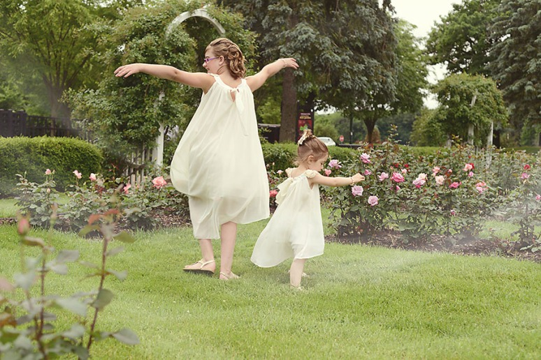 sometimes, it nice to just be in a garden and twirl in your pretty dresses
