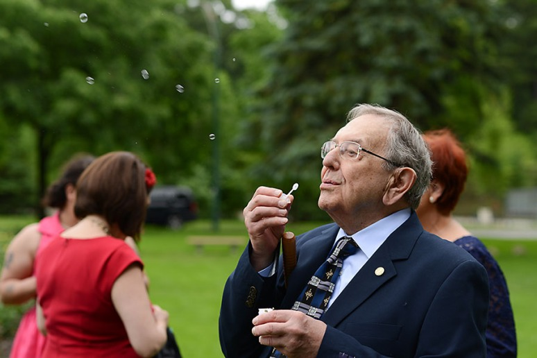 or just blow some bubbles